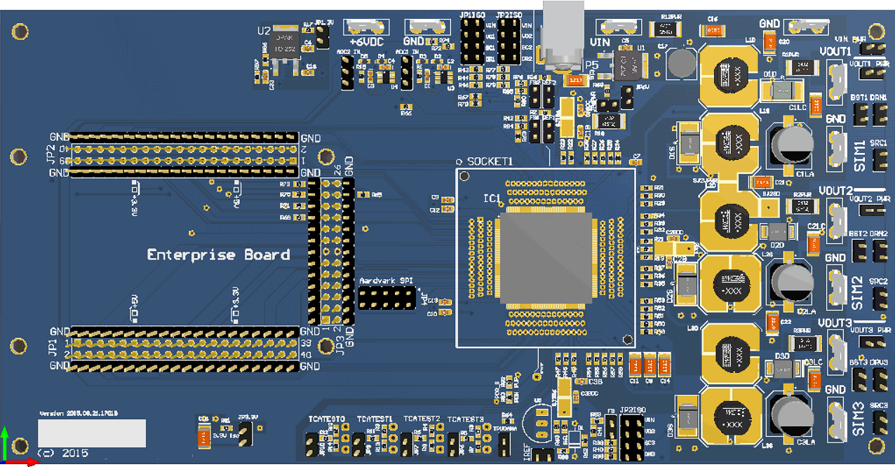 Analog test board